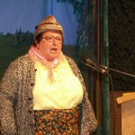 Maria Sudler – Gastgeberin und Entertainerin in einer Person.